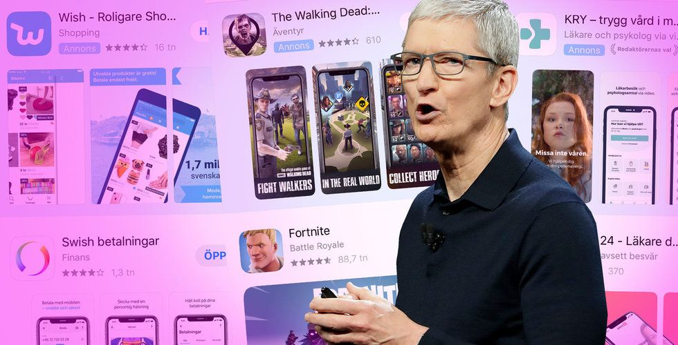 Sökannonser i App Store har kommit till Sverige – förändrar allt