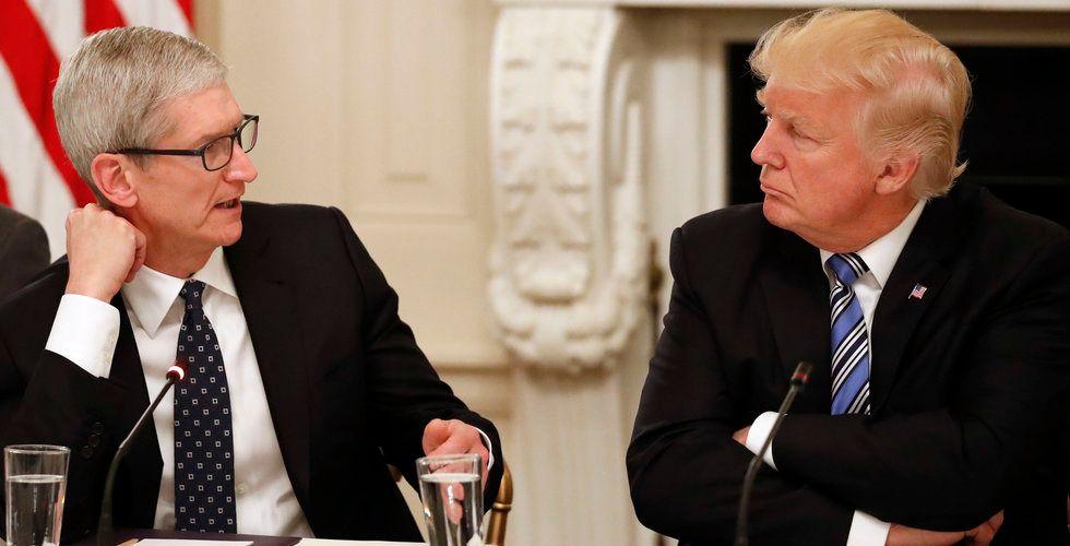Apples vd Tim Cook ska träffa Trump idag