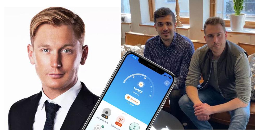 Filip Tysander investerar i Stepler – som vill belöna de som rör på sig