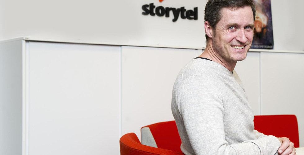 Breakit - Storytel-grundaren säljer aktier för 10 miljoner