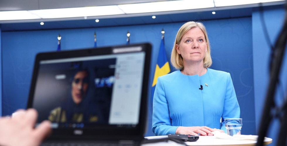 Magdalena Andersson välkomnar Yellens förslag om internationell miniminivå på bolagsskatt