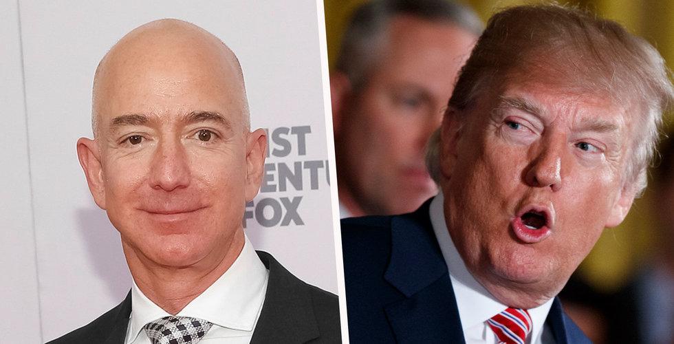 Så ska Donald Trump stoppa Amazon – höjda fraktkostnader och Pentagon