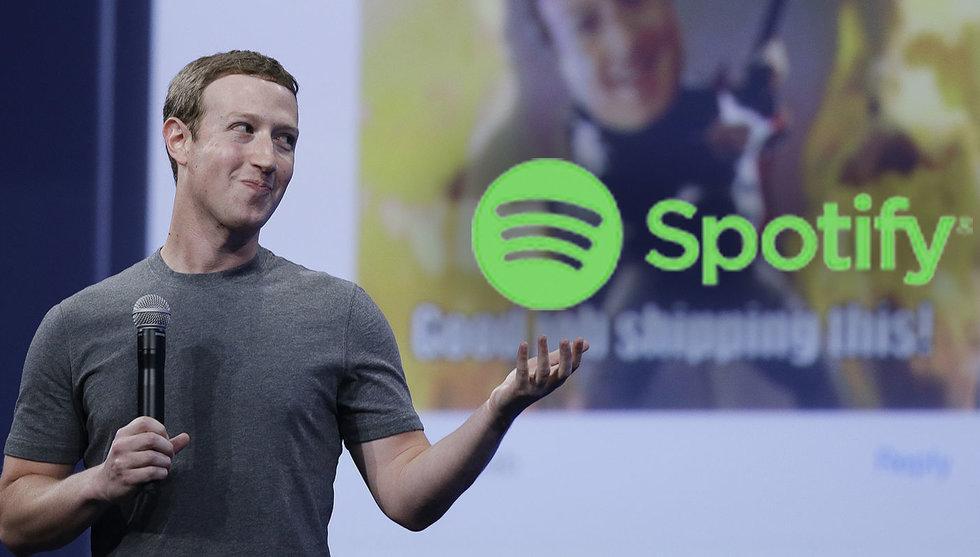 Breakit - Glada nyheter för Spotify – utökar samarbetet med Facebook