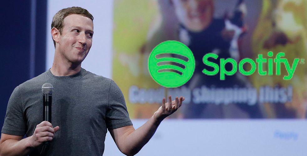 Glada nyheter för Spotify – utökar samarbetet med Facebook