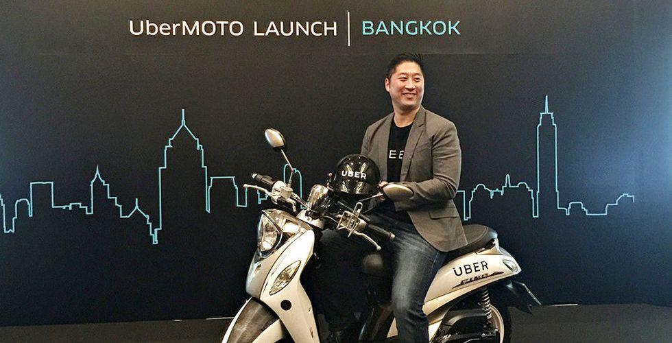 Uber följer konkurrentens val - lanserar motorcykeltaxi i Thailand