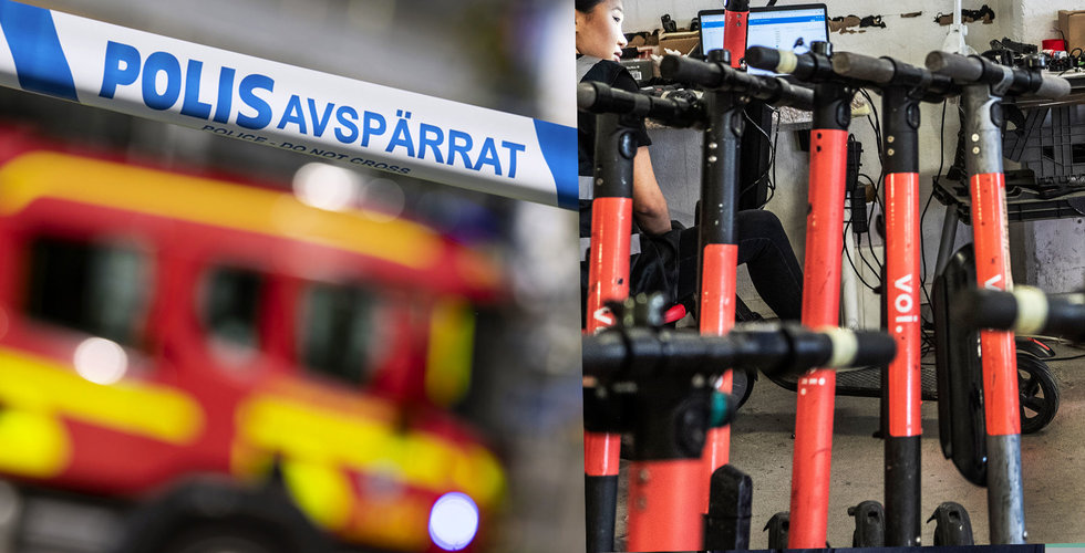 """Brand i natt på Vois kontor: """"Exploderade inne i lokalerna"""""""