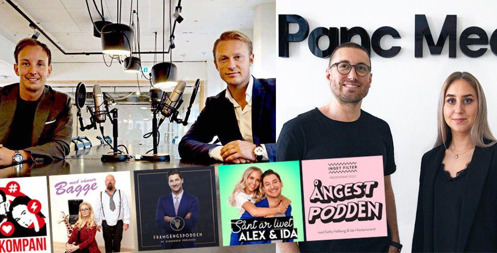 """Poddnätverket Panc Media växer: """"Vi är bäst i branschen"""""""