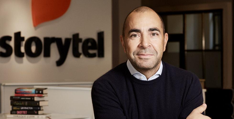 """Hittade Storytel i Draknästet – och förvandlade 2 miljoner till 460: """"Min baby"""""""