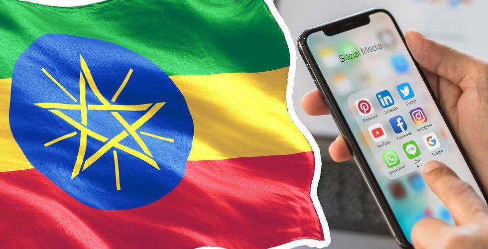Etiopien bygger eget Facebook, Twitter, Zoom och Whatsapp