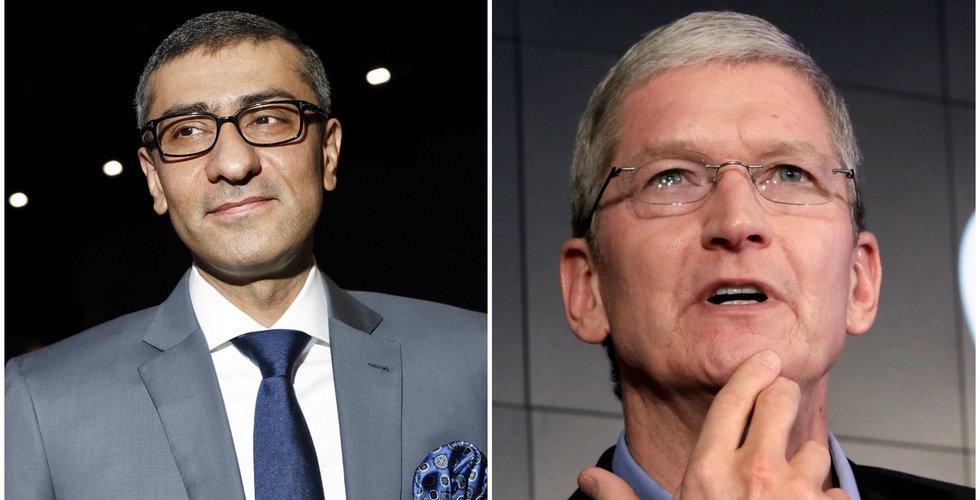 """Telekomjätten Nokia stämmer Apple: """"Försvarar våra rättigheter"""""""