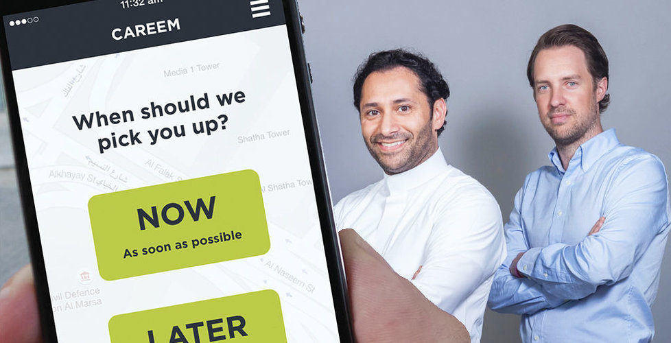 Svenskens Uber-utmanare Careem får in miljarder – biljätte bland investerarna