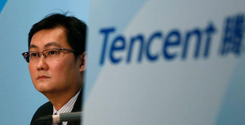 Kinas tech-bjässar drar ned
