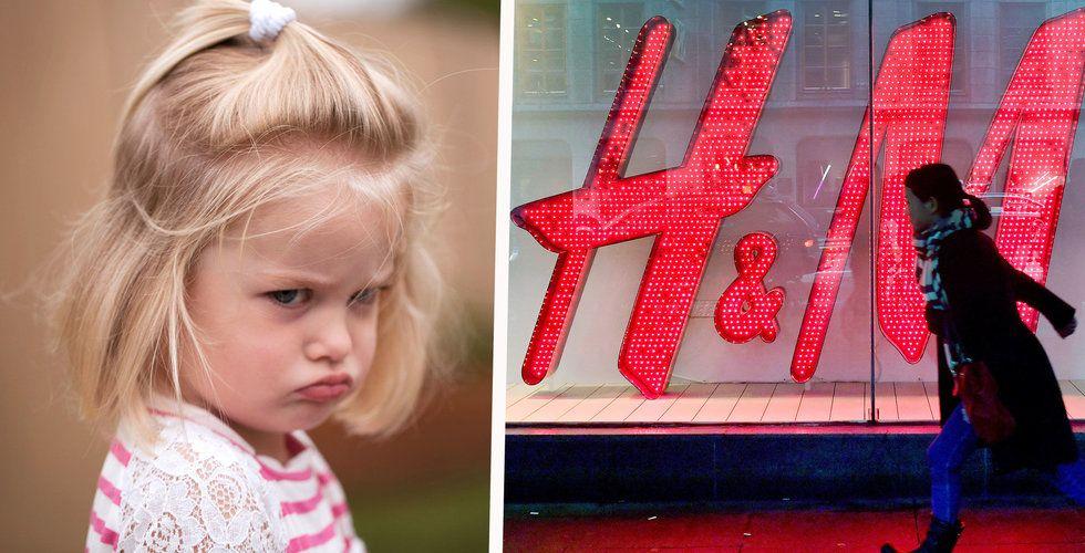 H&M:s satsning har lett till försenade leveranser