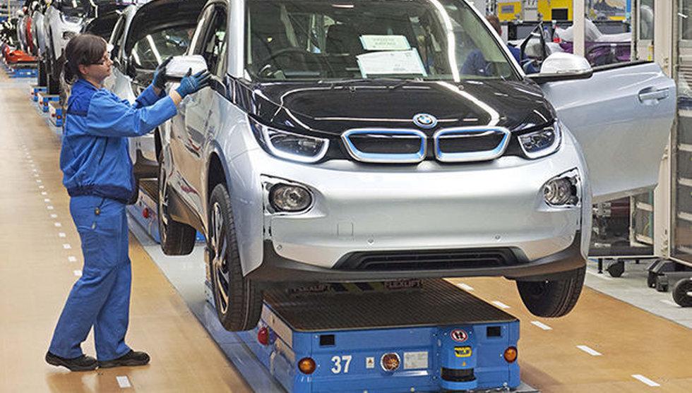 Tyska BMW storsatsar på elbilar - för att hinna ikapp Tesla
