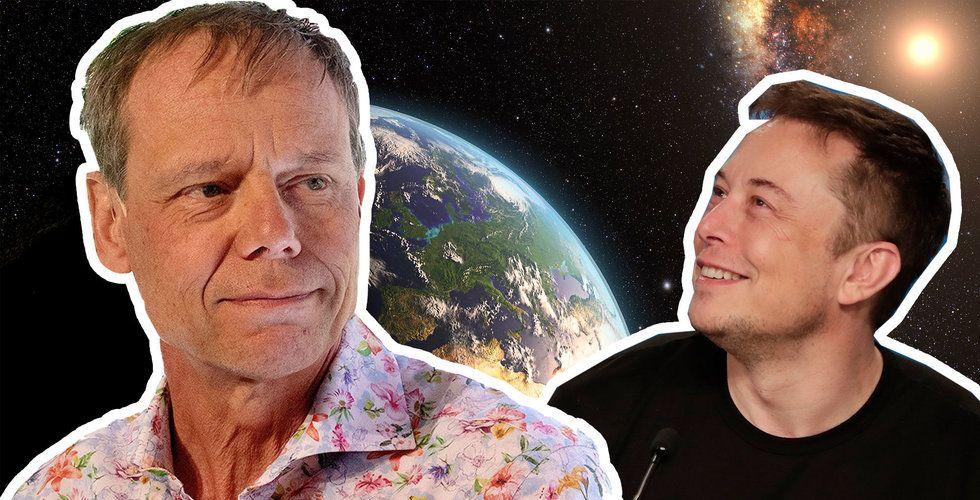 Christer Fuglesang: Det Elon Musk gör är helt nödvändigt