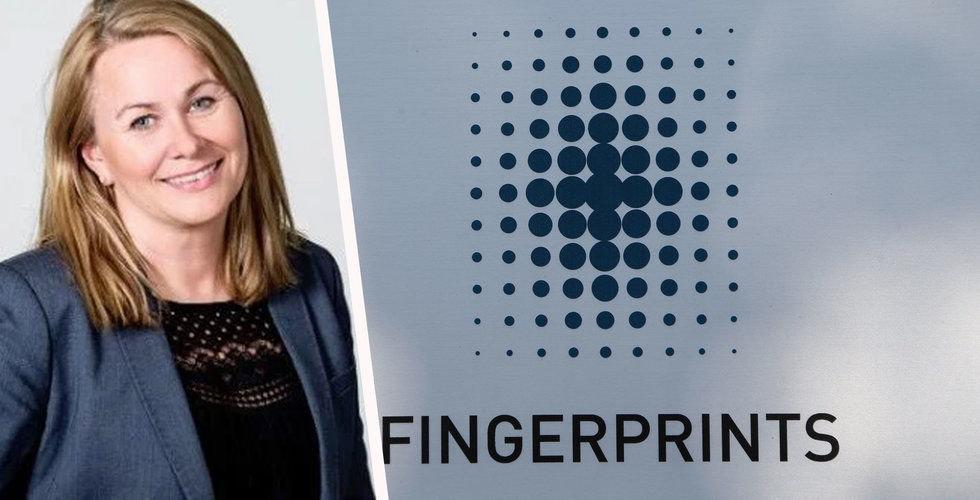 Pernilla Lindén hoppar av som toppchef hos Fingerprint – innan hon har börjat