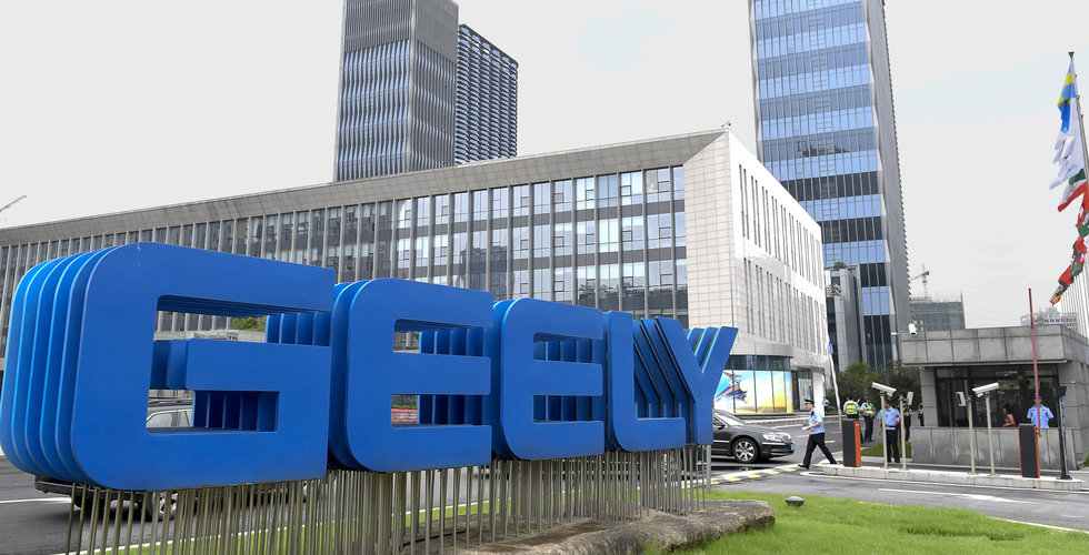 Geely uppges vilja köpa upp till 5 procent av Daimler