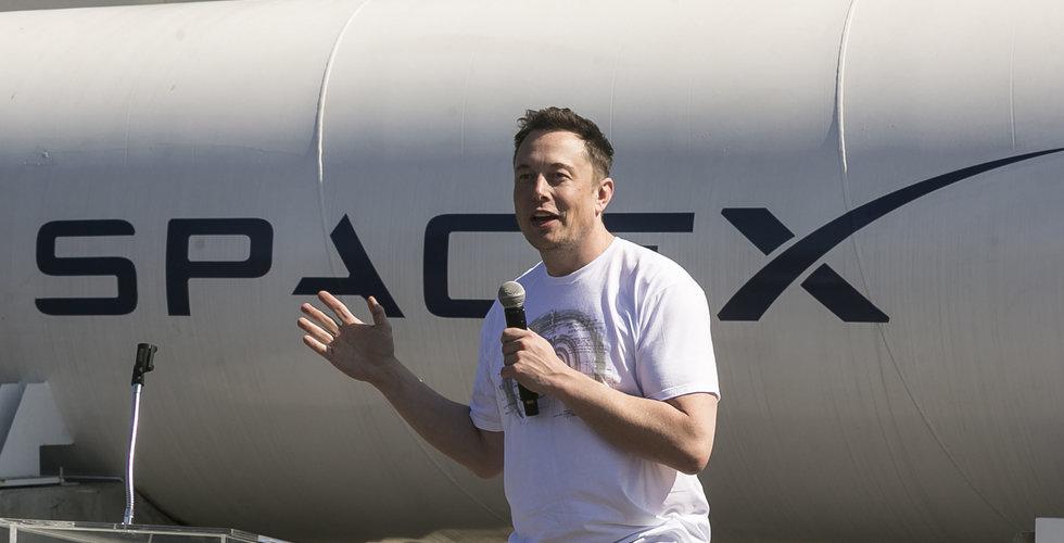 Breakit - Elon Musks SpaceX laddar för raketuppskjutning