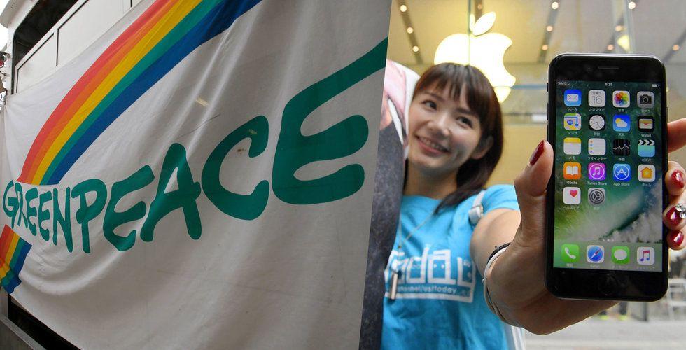 Breakit - Apple satsar på återvinning – men sågas av Greenpeace