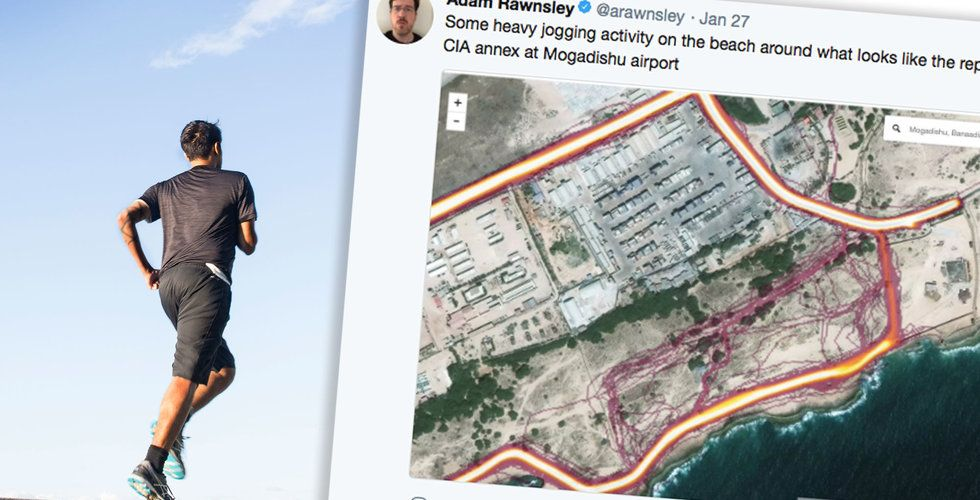 Larmet: Joggande militärer avslöjar topphemliga baser