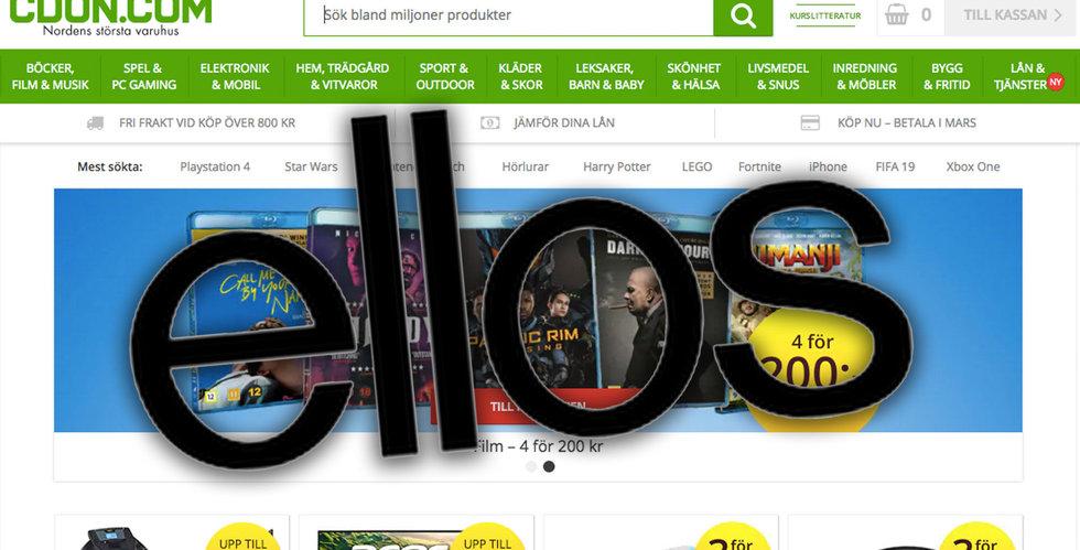Ellos ska börja sälja via Cdon.com