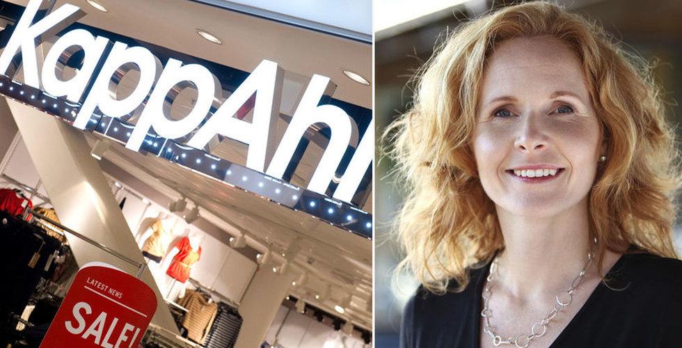 """Vinstras för Kappahl – fler butiker kan stängas: """"En besvikelse"""""""