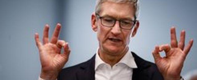Breakit - Apple nådde förväntningarna – aktien stiger