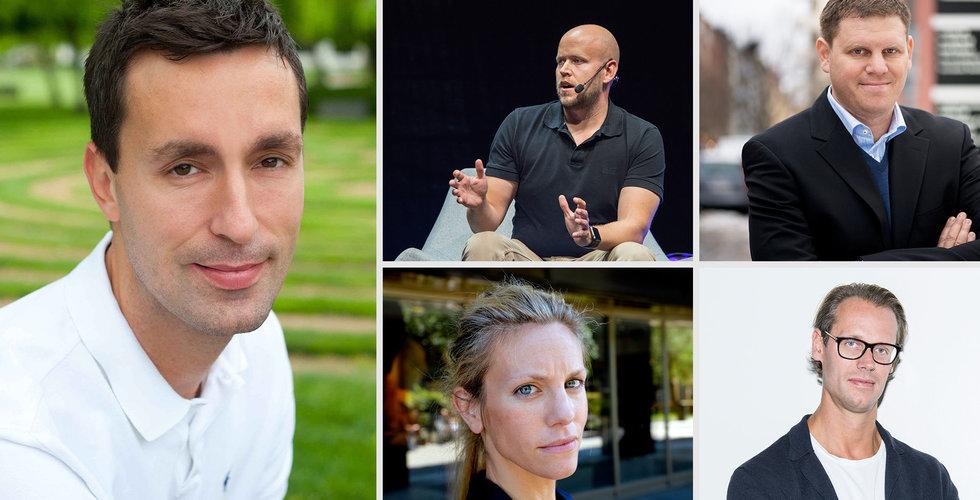 Här är techsvenskarna som tjänar mest – han krossar Daniel Ek på lönelistan