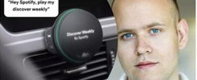 Breakit - Spotify kan släppa sin röststyrda högtalare till bilister redan i år