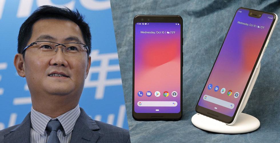 Huawei i topp – trots svartlistningen