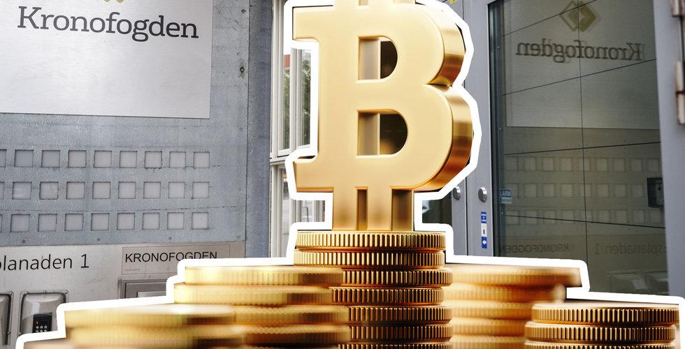 Kronofogden beslagtog bitcoin – ska auktioneras ut till högstbjudande
