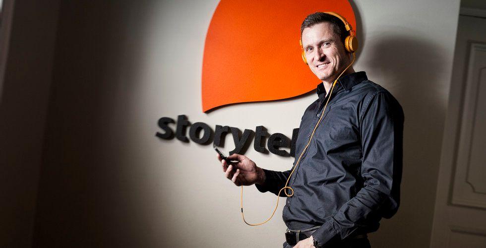"""Storytels grundare Jonas Tellander: """"Det blir personligt"""""""