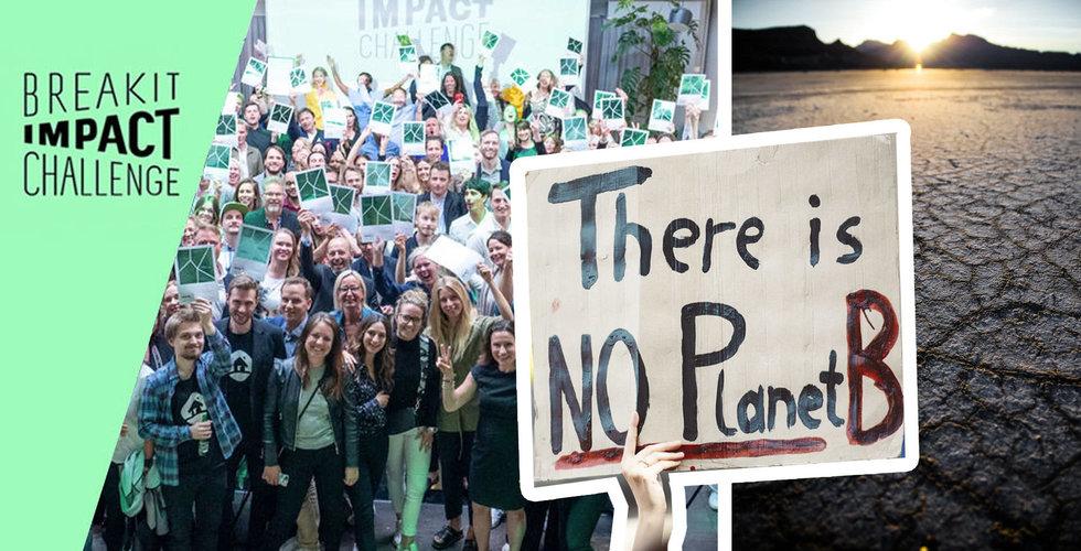 Klimathotet större än någonsin – nu kör vi Impact Challenge igen – haka på!