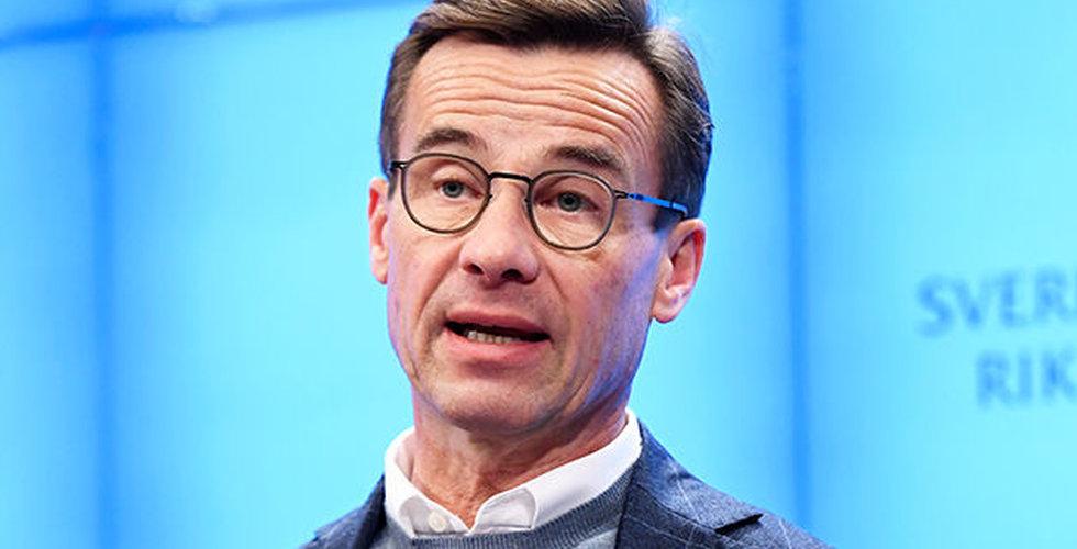 """Kristersson efter Sjöstedts besked: """"En absurd regeringsbildning"""""""