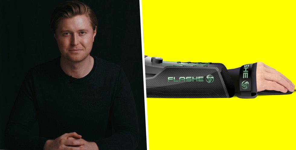 Flashe Gaming vill minska risken för skador i e-sport – nu backas han upp
