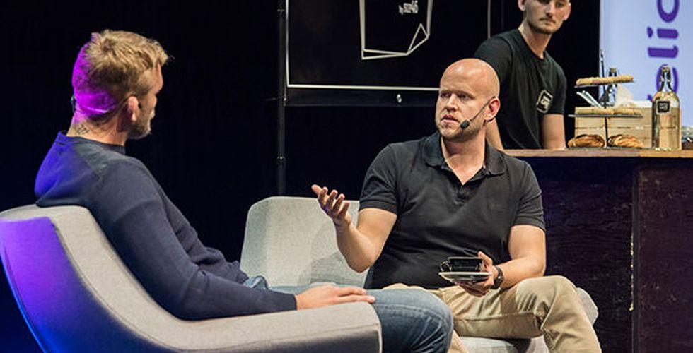 Tungviktsmötet på techfesten: Daniel Ek frågade ut The Mauler