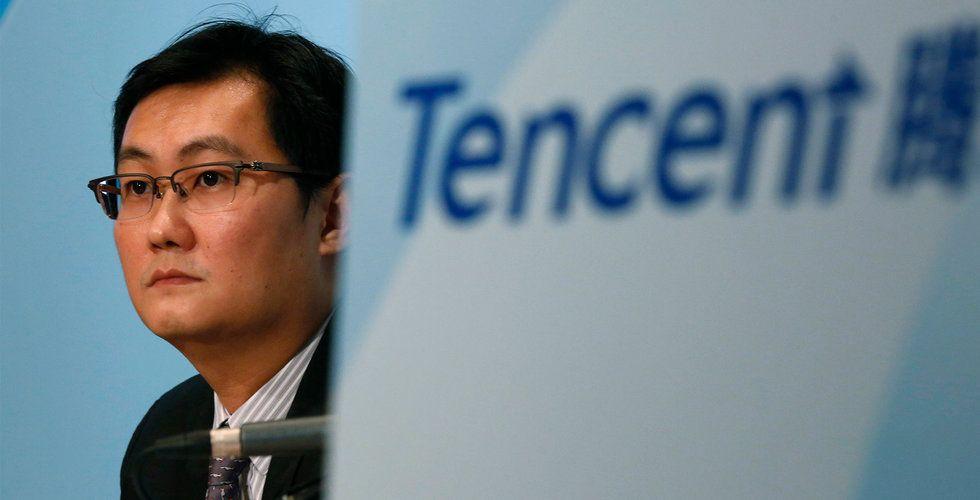 Tencent Music steg 7,7 procent i börspremiären