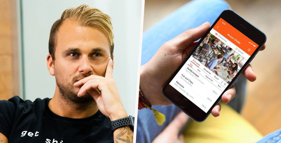 """Ancon lanserar konkurrent till Foodora – mitt i krisen: """"Har jobbat dag och natt"""""""