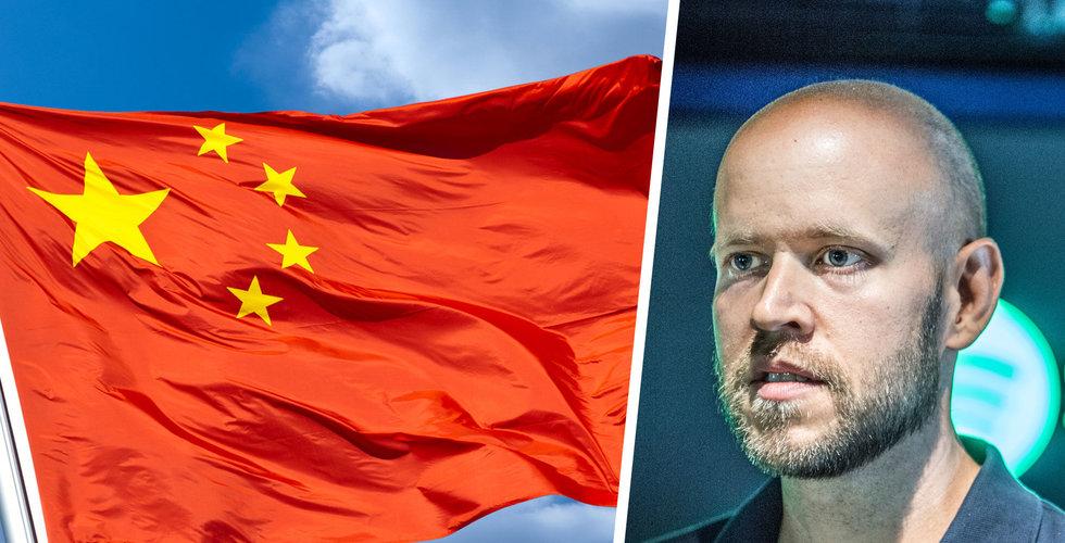 Spotify kan dra igång i Kina – jättelandet öppnar streamingmarknaden