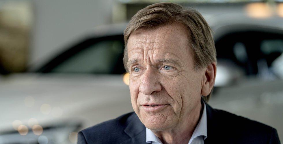 Jättefonden vill sälja allt i Volvo