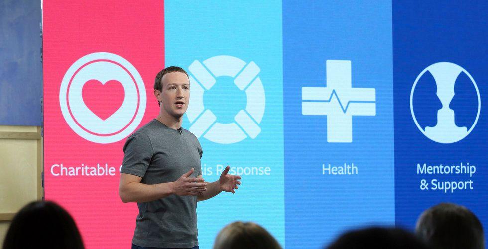 Breakit - Facebook faller efter beskedet från Zuckerberg