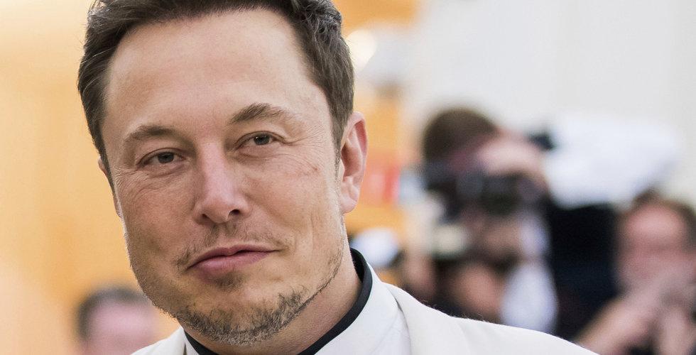 Tesla utmanar Uber och Lyft med taxiapp