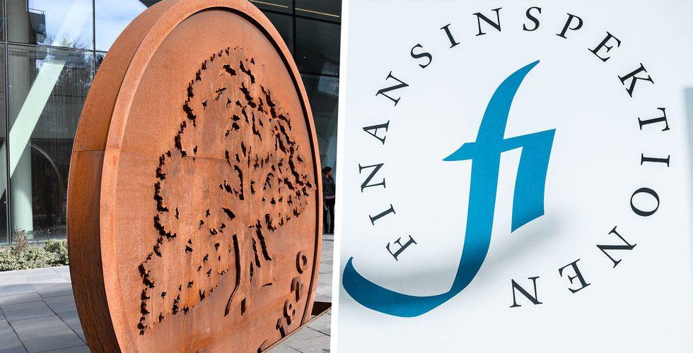 EU synar Finansinspektionen efter Swedbank-härvan
