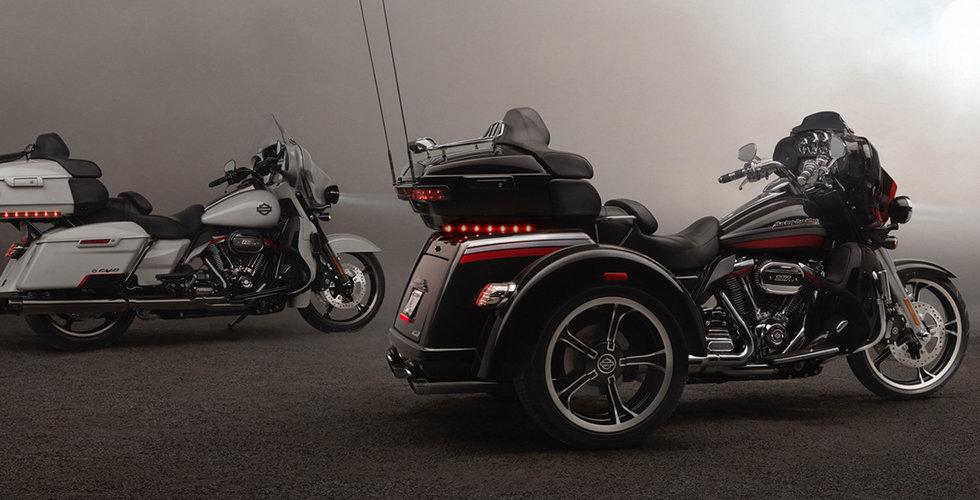 Harley-Davidson återupptar produktionen av elmotorcyklar