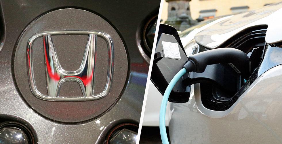 Hondas nya satsning – elbilen ska kunna laddas på femton minuter