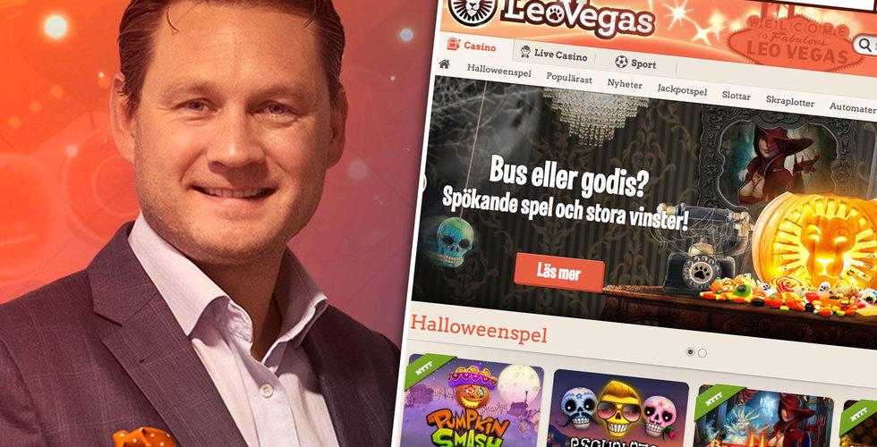 """Breakit - Leo Vegas-chefen flaggar för nya uppköp: """"Vi har laddat på vår kassa"""""""
