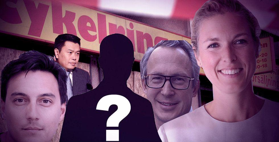 Investeraren dissar, otippad ägare i Löwengrips gamla bolag och konkursföretaget som mörkar