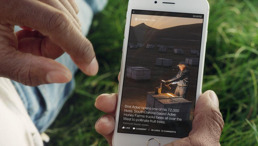 Facebook och Washington Post satsar för fullt på Instant Articles