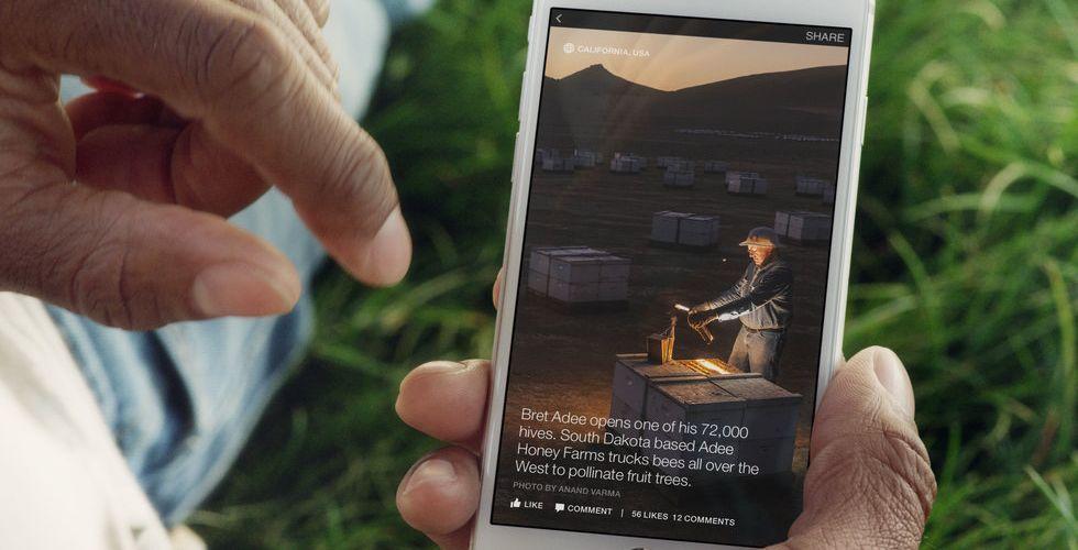 Breakit - Facebook och Washington Post satsar för fullt på Instant Articles