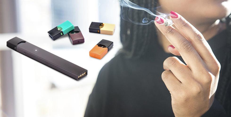 Stark e-cigarettförsäljning på grund av Juul